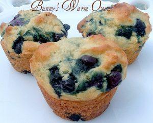 Blueberry Yogurt Muffins for Breakfast