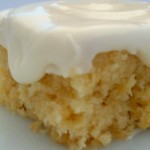 Pineapple-Orange Cream Cheese Cake With Almonds And Cream Cheese Frosting