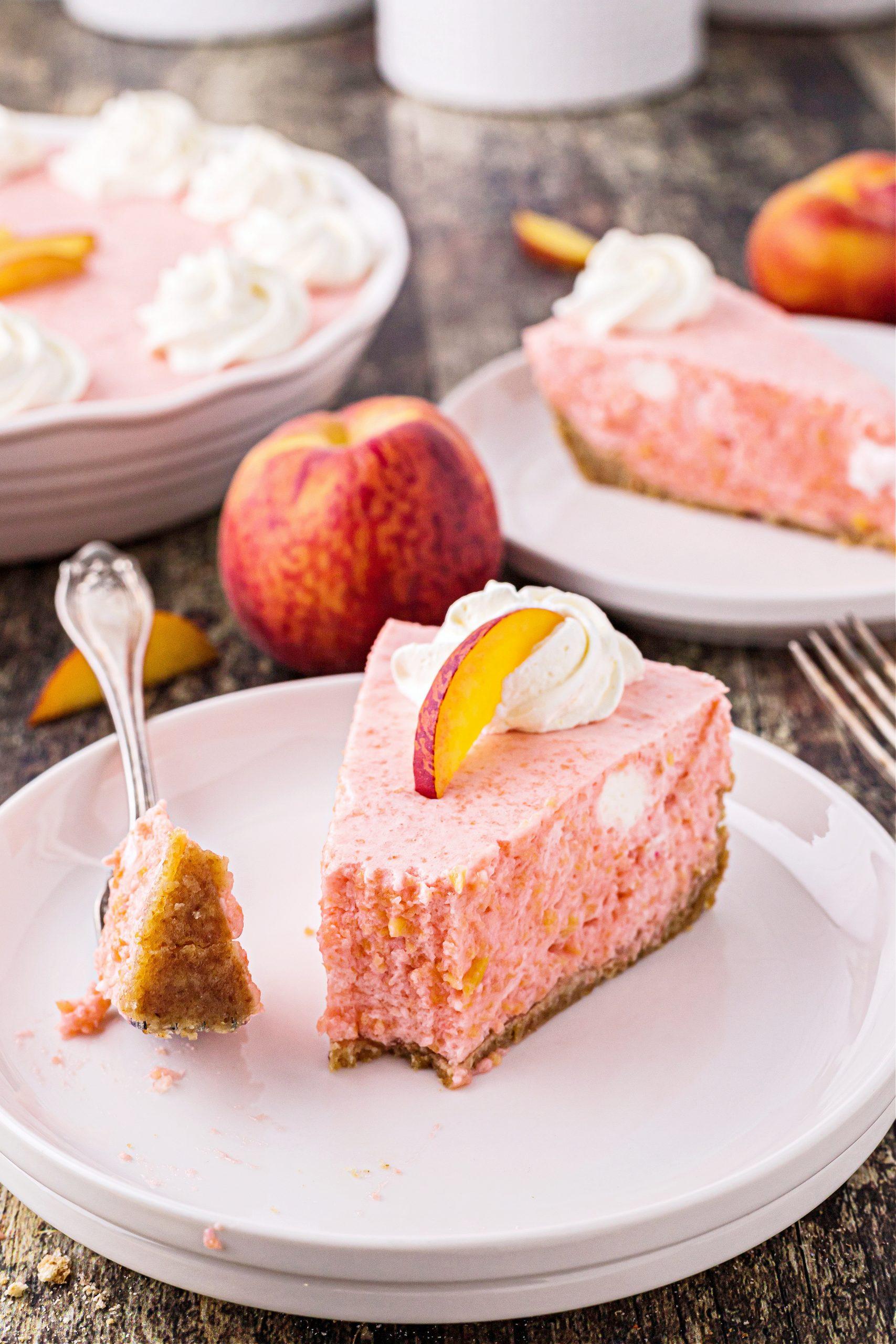 Peach Chiffon Pie