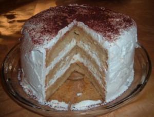 The Cake Slice…Cappuccino Chiffon Cake