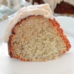 Banana Cake with Browned Butter Glaze