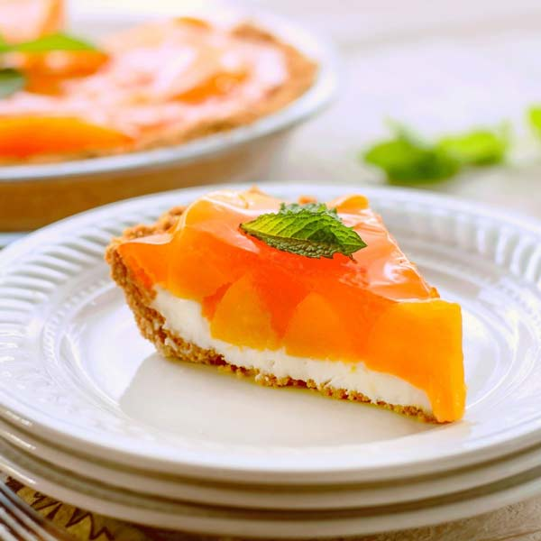 Easy to make, this light, cool ,creamy, pie screams summer dessert. The graham cracker crust, cream cheese layer, peaches and topping come together perfectly to make one luscious summer treat.