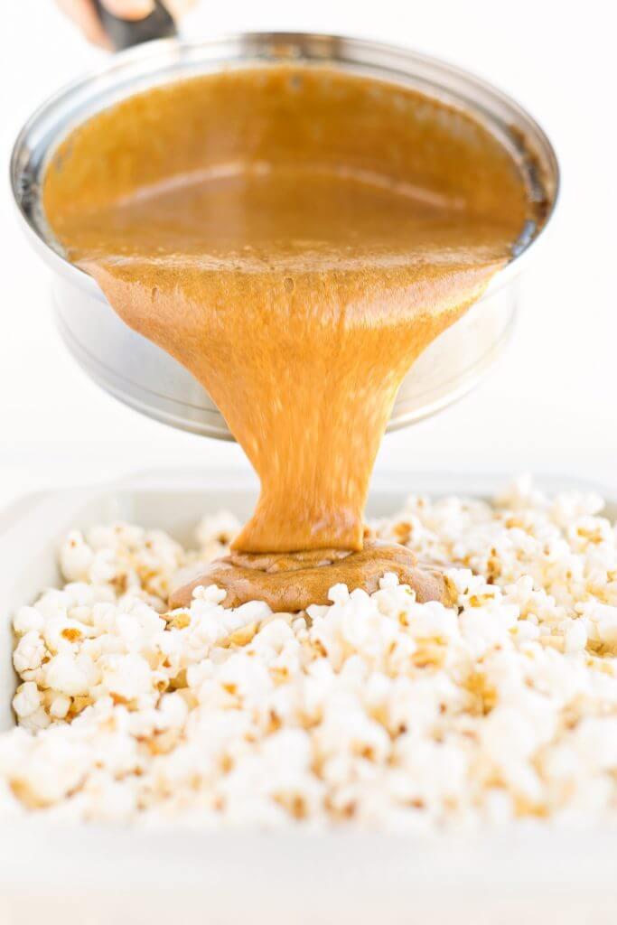 caramel corn recipe amish