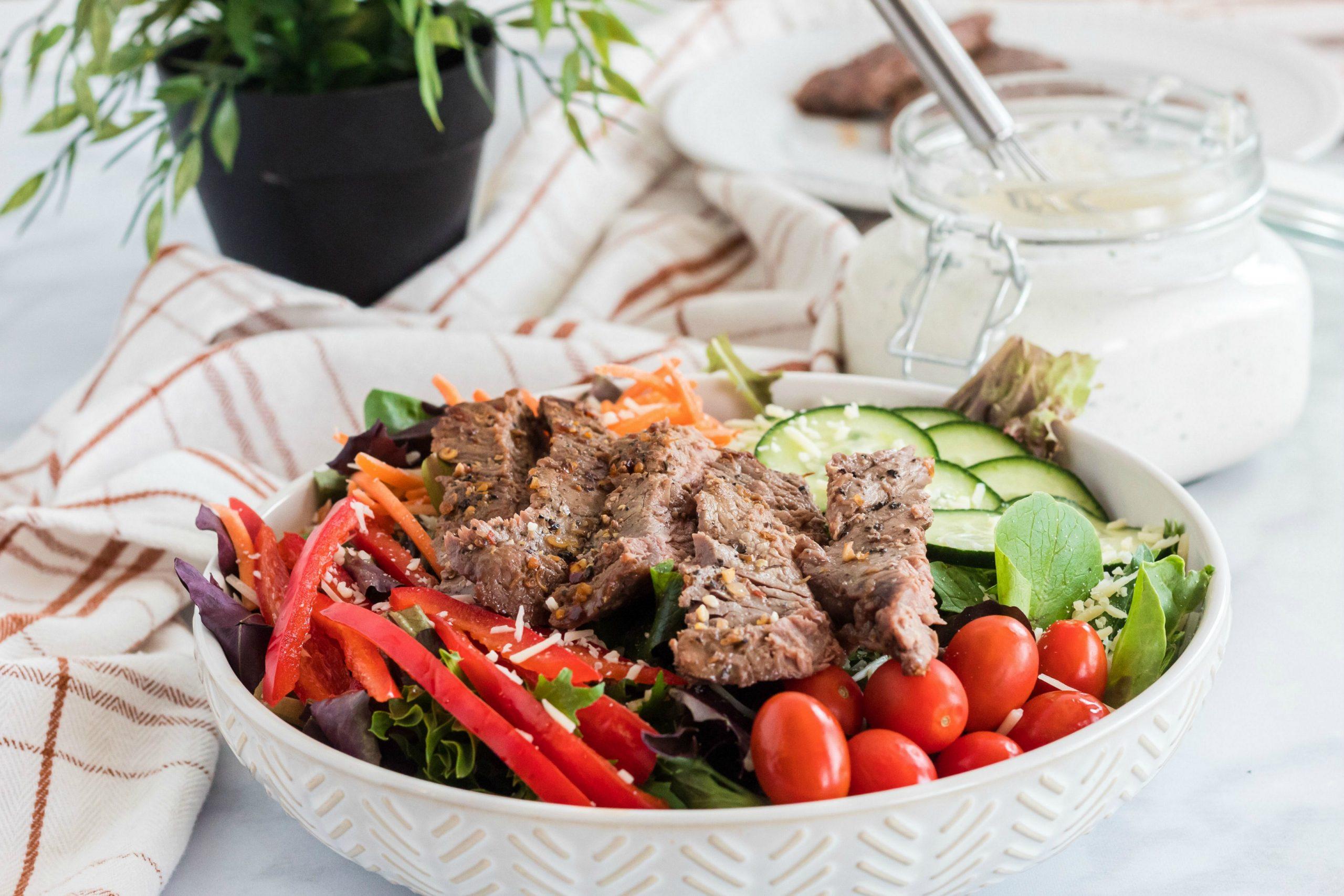 Homemade Sour Cream Salad Dressing