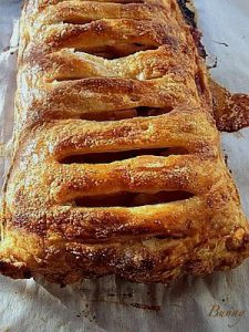Apple Brown Butter Jalousie