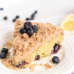 Ina Garten's Blueberry Crumb Coffee Cake