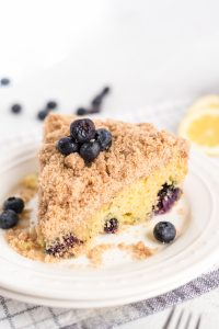 Ina Garten's Blueberry Crumb Coffee Cake