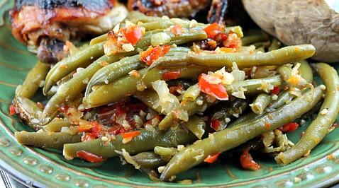 Best Fresh Green beans EVER!