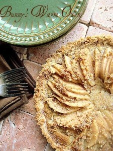 Pear Pecan Tart with picture tutorial