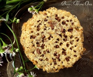 Milk Chocolate Florentine Cookies for Mother's Day