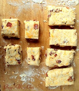bacon and cheddar biscuits