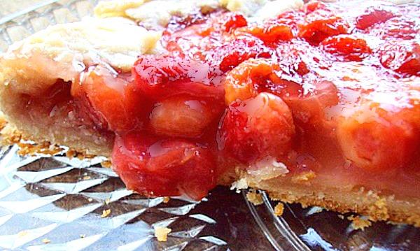 Sour Cherry Crostata