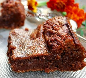 Decadently Delicious Mousse Brownies