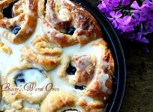Lemon Blueberry Cheesecake Morning Rolls…The Best Rolls Ever!