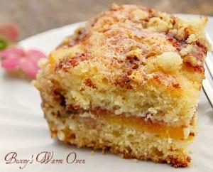 Ina Garten's Fresh Peach Cake