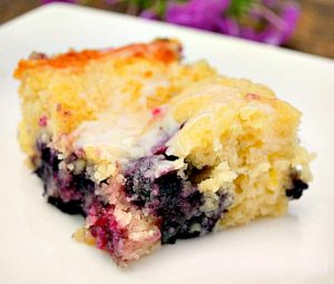 Blueberry Boyfriend Bait with Lemon Glaze