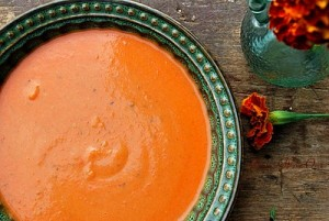 Creamy Heirloom Tomato Soup