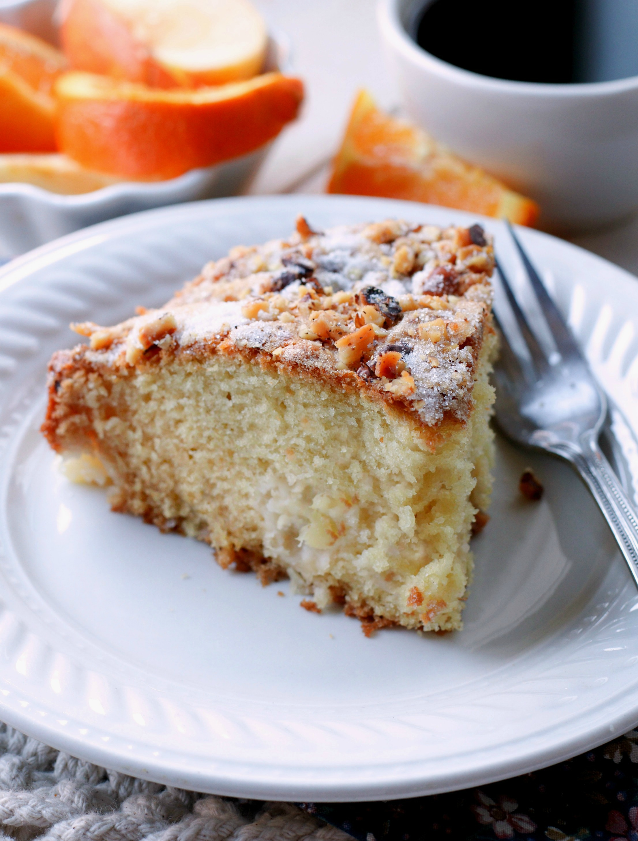 Pineapple Walnut Cake With Cream Cheese Frosting