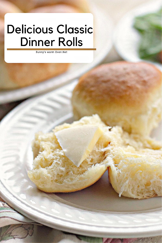 Delicious Classic Dinner Rolls