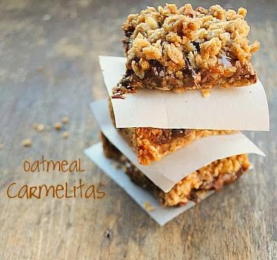 oatmeal carmelita bars