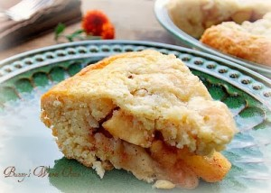 Apple Scone Cake