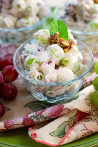 Creamy Delicious Grape Salad