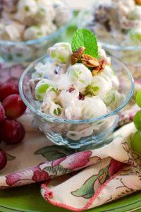 Creamy Delicious Grape Salad