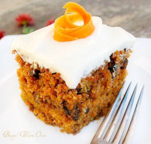 The Best Carrot Cake Ever with Cream Cheese Frosting - Bunny's Warm Oven