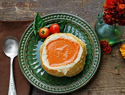 Cream Heirloom Tomato Soup
