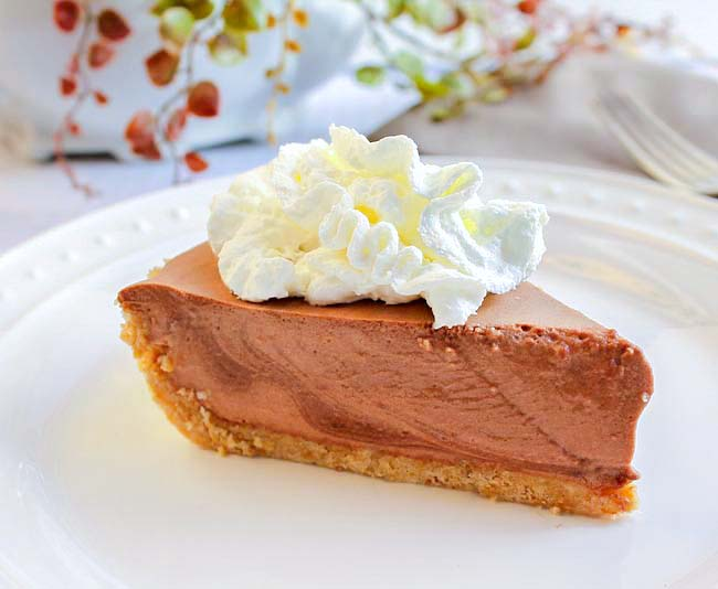 Chocolate Bavarian Pie