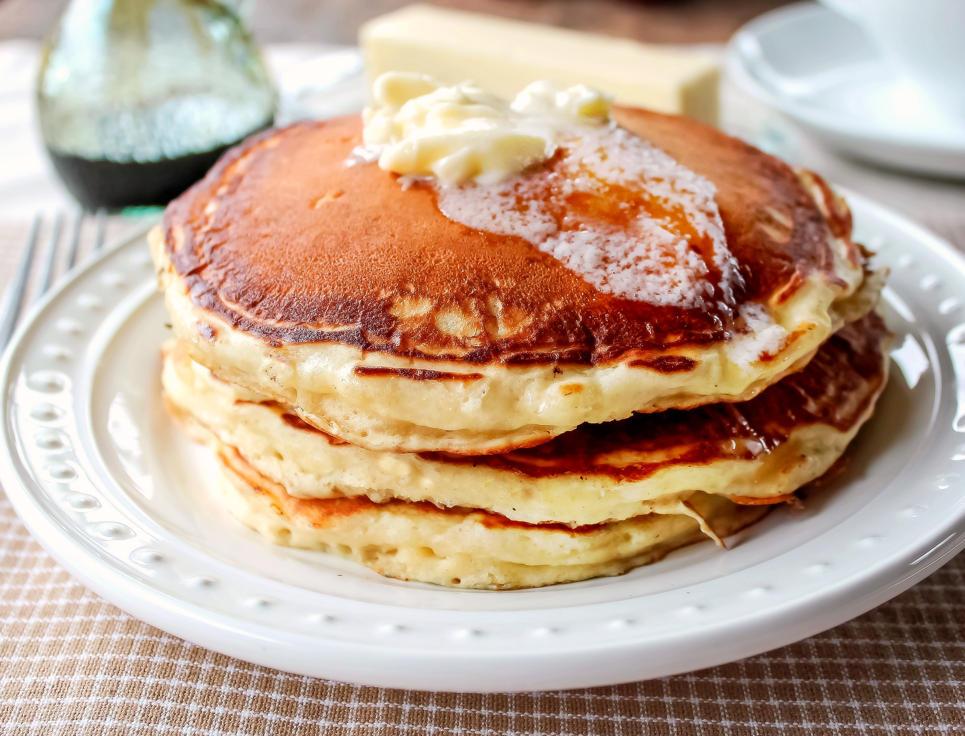 The Best Buttermilk Pancakes EVER!