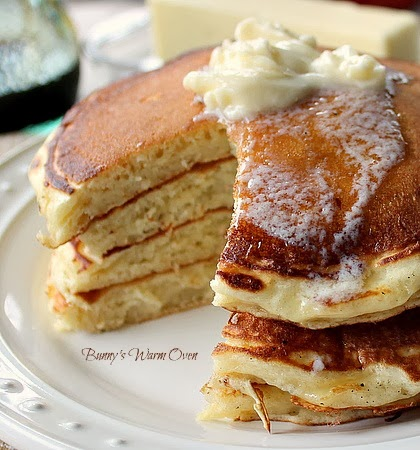 The Best Buttermilk Pancakes EVER! - Bunny's Warm Oven