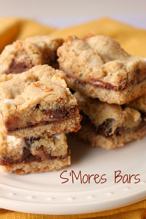 Soft and Chewy Smores Bars