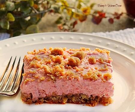 frozen strawberry dessert
