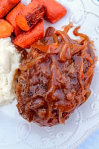 Incredible Salisbury Steak…This is comfort food!