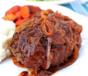 Incredible Salisbury Steak…This is comfort food!