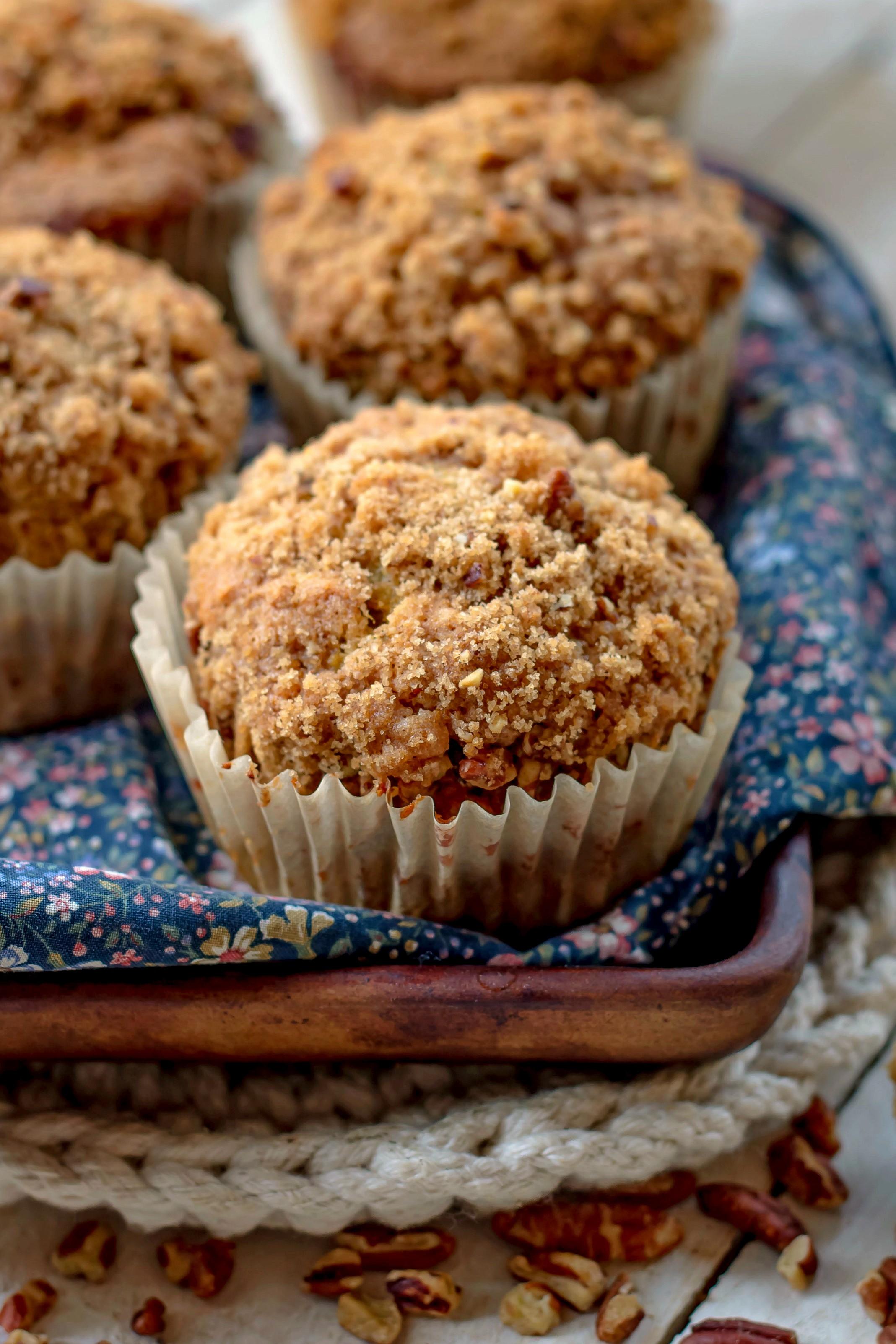 banana bread muffin recipe