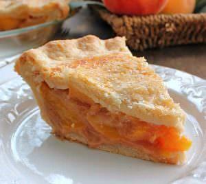 The Perfect Peach Pie