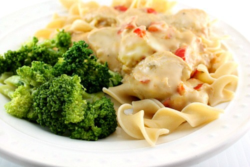 Chicken Breast In Sour Cream Sauce