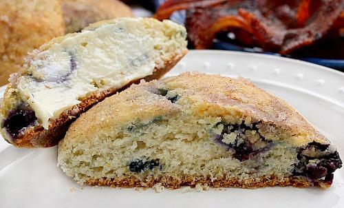 Blueberry Buttermilk Biscuit