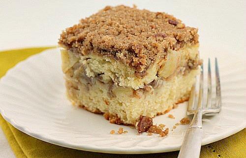 Apple Streusel Coffee Cake - Bunny's Warm Oven