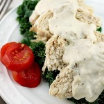 Crockpot Ranch Cream Cheese Chicken