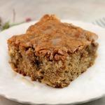 Cream Cheese Puff Pastry Cookies Apple Walnut Cake with Vanilla Glaze ...