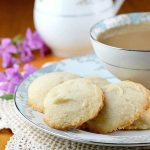 Shortbread Drop Cookies