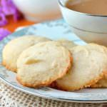 Whipped Shortbread Drop Cookies