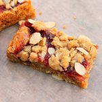 Cherry Oatmeal Almond Bars