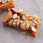 Cherry Oatmeal Almond bars