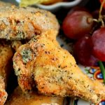 A Game Day Post… Ranch Chicken Wings