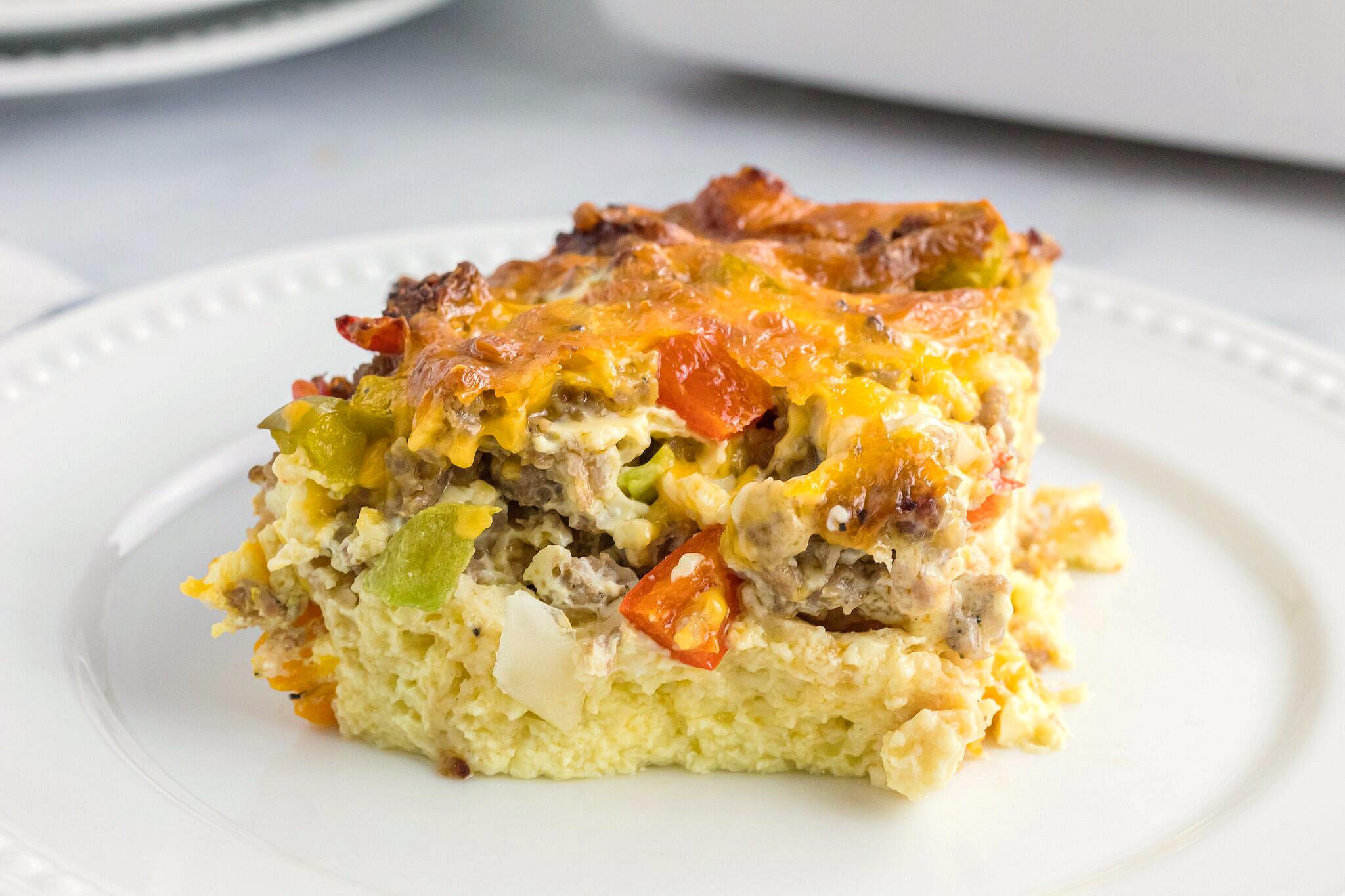 sausage egg casserole