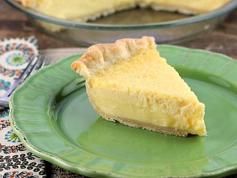 Buttermilk Lemon Pie
